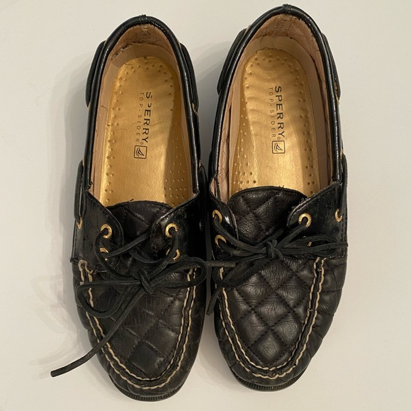 Sperry quilted top siders